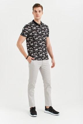 Avva Erkek Açık Gri Yandan Cepli Armürlü Slim Fit Pantolon A01s3081 3