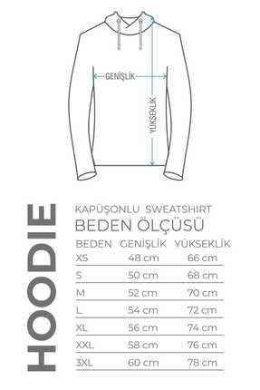 Burlu Motoksikletli Cool Ayı Hoodie Kapişonlu Sweatshirt 3
