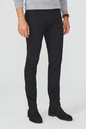 Avva Erkek Siyah 5 Cepli Slim Fit Pantolon A02y3055 0