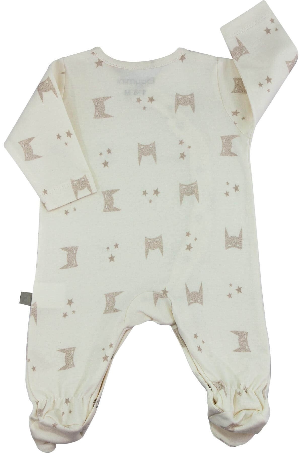 Boumini I Am Batman Yeni Doğan Patikli Bebek Tulumu 0-6 Ay
