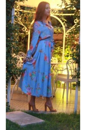 Hotfashion Hot Fashion Maksi Elbise 1
