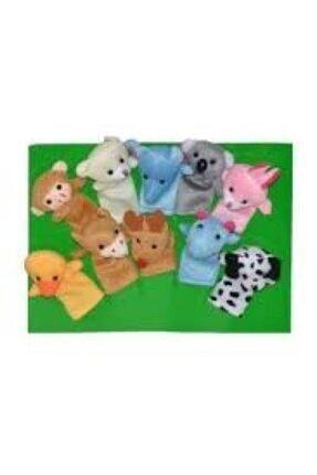 Happy Toys Özel Seri Oyuncak Eğlendirici 10,lu Parmak Kukla Seti 2