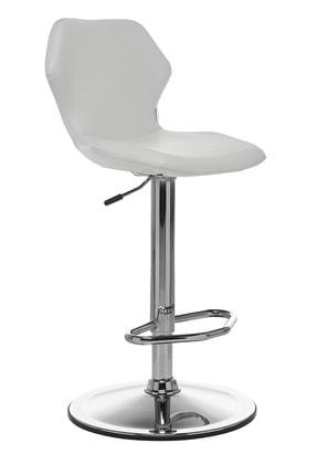 Seduna Kuga Bar Taburesi Beyaz | Bar Sandalyesi 1