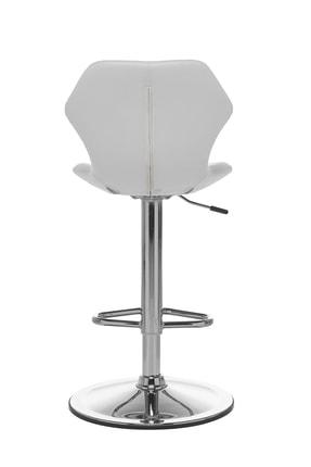 Seduna Kuga Bar Taburesi Beyaz | Bar Sandalyesi 3