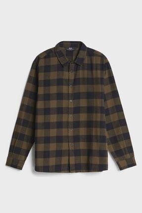 Bershka Uzun Kollu Kareli Gömlek 1