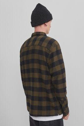 Bershka Uzun Kollu Kareli Gömlek 2
