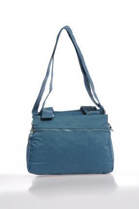 Smart Bags Smbky1125-0050 Buz Mavi Kadın Omuz Çantası 2