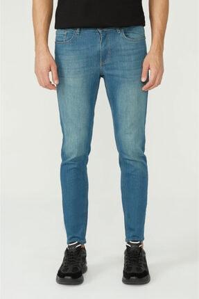 Avva Erkek Mavi Skinny Fit Jean Pantolon E003507 0