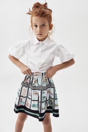 Tyess Kız Çocuk Beyaz Gömlek 20pfwtj4601 0
