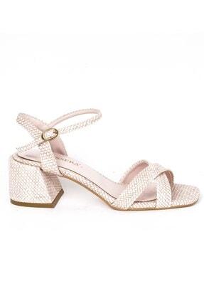 Tessera Kadın Topuklu Sandalet 0