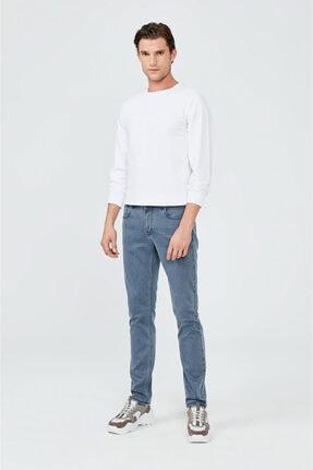 Avva Erkek Mavi Slim Fit Jean Pantolon A02y3570 3