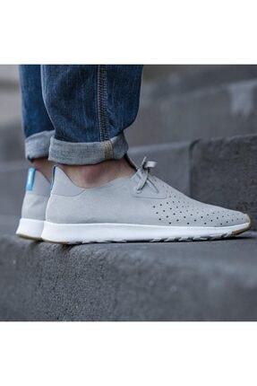 Native Shoes - Unisex Spor Ayakkabısı - Apollo Moc Pigeon Grey/shell White/nat Rubber 3
