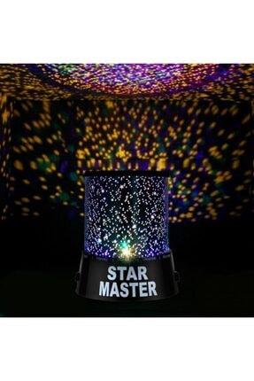 kartalshopping Star Master Pilli Projeksiyonlu Led Yıldızlı Renkli Gece Lambası 4