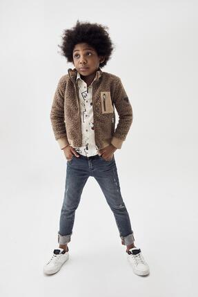Erkek Çocuk Jean Pantolon 20fw0nb3218 resmi