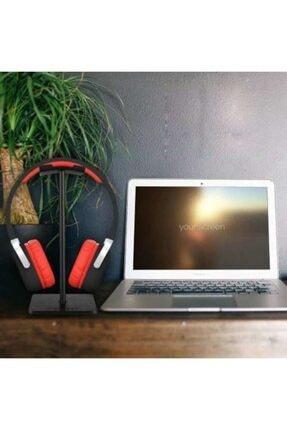 AldımGeldi Kulaklık Tutucu Standı Metal Siyah Headset Stand Renk Siyah 1
