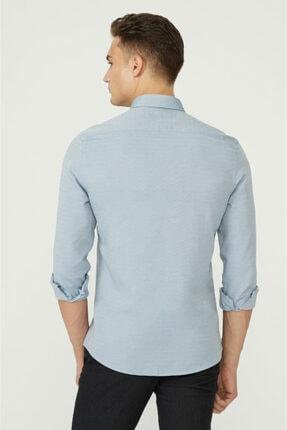 Avva Erkek Koyu Mavi Oxford Düğmeli Yaka Regular Fit Gömlek E002000 2