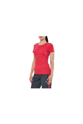 15s-2210 Kırmızı Penye Bayan T-shirt resmi