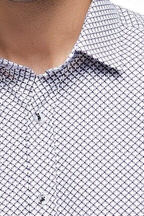 Otto Moda Uzun Kollu Desenli Erkek Gömlek 3