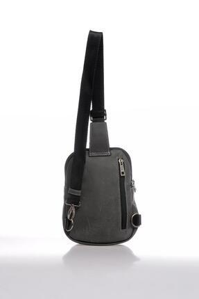 US Polo Assn Plevry20510 Gri Erkek Askılı Çanta 2