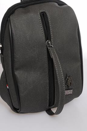 US Polo Assn Plevry20510 Gri Erkek Askılı Çanta 3