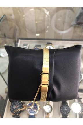 Orient Gold Renk Ince Hasır Kordon Bayan Saat 1