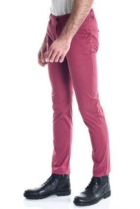 Little Cup Bordo Erkek Slimfit Chino Pantolon 1
