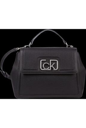 Calvin Klein Kadın Siyah Singanture Mini Omuz Çantası 0