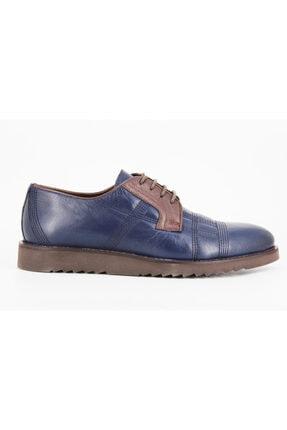 Hakiki Deri Erkek Ayakkabı 6315 Lacivert