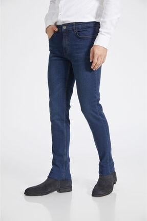 Avva Erkek Lacivert Slim Fit Jean Pantolon A02y3529 1