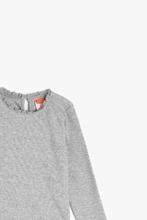 Koton Kız Bebek Gri T-shirt 2