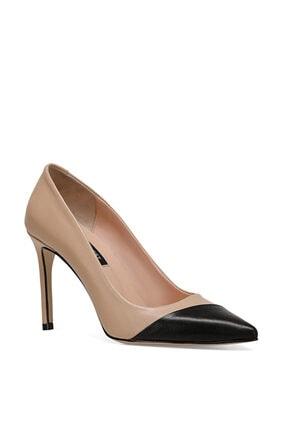 Nine West TRELO Naturel Kadın Hakiki Deri Topuklu Ayakkabı 100526680 1