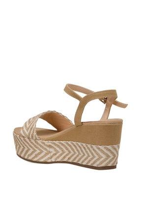 Nine West NORMA Haki Kadın Dolgu Topuklu Sandalet 100524808 2
