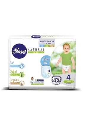 Sleepy 4 Beden Maxi Natural Külot Bez 30 Adet 7-14 kg 1