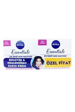Nivea Essentials Günlük Nemlendirici Krem 50 ml Kuru/hassas Cilt 2li 0