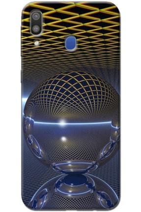 Noprin Samsung Galaxy M20 Kılıf Silikon Baskılı Desenli Arka Kapak 0