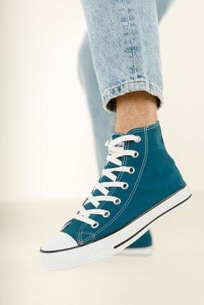 Muggo Unisex Mavi Keten Ayakkabı Mgcrs37 3