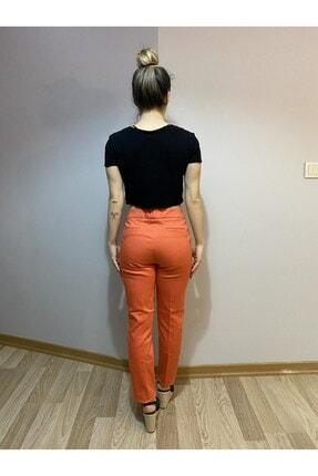 MAGA STORE Turuncu Kadın Kumaş Pantolon 1