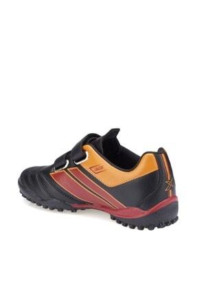 Galatasaray TRIM J TURF GS Siyah Kırmızı Erkek Çocuk Halı Saha Ayakkabısı 100280466 1
