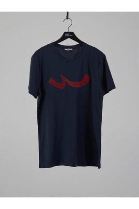 Ltb Erkek  Lacivert  Baskılı  Kısa Kol Bisiklet Yaka T-Shirt 012208415960890000 0
