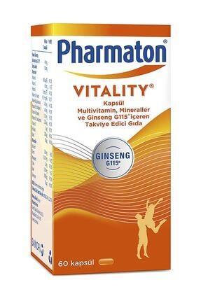 Pharmaton Vitality 60 Kapsül 0