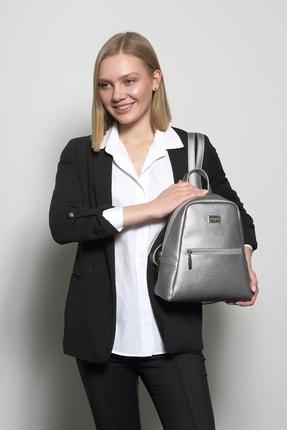 Marie Claire Kadın Gri Sırt Çantası Jane Mc212102011 0