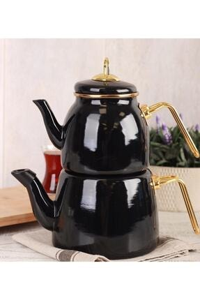 ACAR Qualita Roma Çaydanlık Takımı Siyah 0