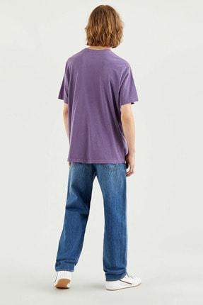Levi's Erkek Ss Relaxed Fıt Tee Ssnl Mv Logo Garment T-Shirt 16143-0104 2