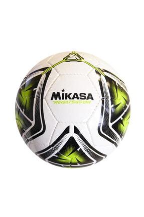 MIKASA Beyaz Yeşil Futbol Topu Regateador5-g 1