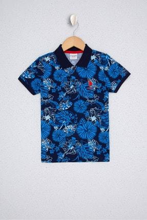 US Polo Assn Erkek Çocuk Lacıvert T-Shirt G083Sz011.000.1126089 0