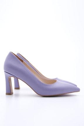 Marjin Kadın LİLA Stiletto Topuklu Ayakkabı Akuna 3