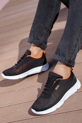 Muggo Unısex Siyah Sneaker M512 1