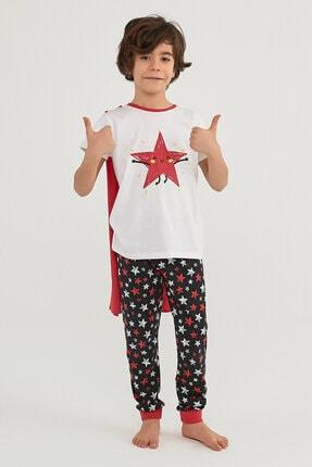 Penti Erkek Çocuk Çok Renkli Boys Stars Ss Pijama Takımı 2li 3