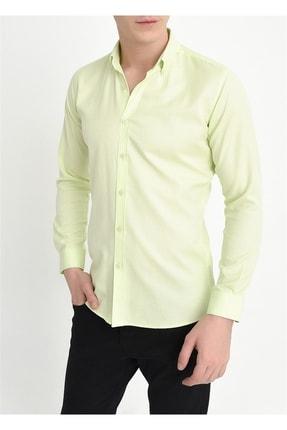 Efor Gk 560 Slim Fit Limon Klasik Gömlek 1