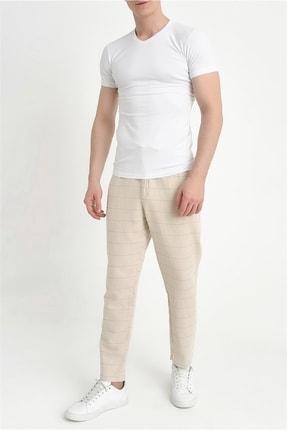 Efor Atp 09 Slim Fit Bej Spor Pantolon 2
